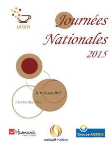 Affiche Journées Nationales 2015