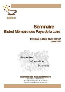Séminaire BM Pays de Loire 6.03.15