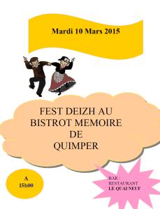 séance Fest Deizh 10 Mars 2015